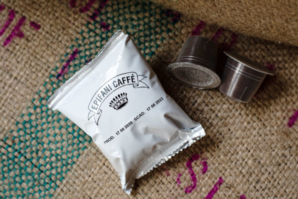 pacchetto singolo capsula copatibile nespresso di caffè artigianale di Epifani Caffè